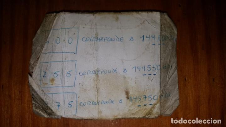 Radios antiguas: EXCELENTE Y RARA PAREJA DE WALKIE TALKIE ICOM IC-2N EN SUS FUNDAS. FUNCIONAN. LEER DESCRIPCIÓN. - Foto 30 - 188509236