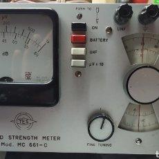 Radios antiguas: MEDIDOR DE CAMPO ANALOGICO DE TV Y RADIO AÑO 1960. Lote 189301836