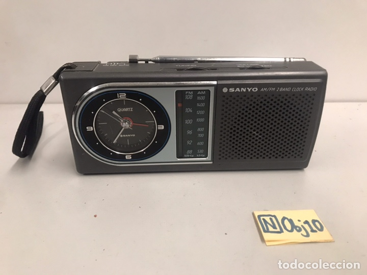 ANTIGUA RADIO RELOJ SANYO (Radios, Gramófonos, Grabadoras y Otros - Radioaficionados)
