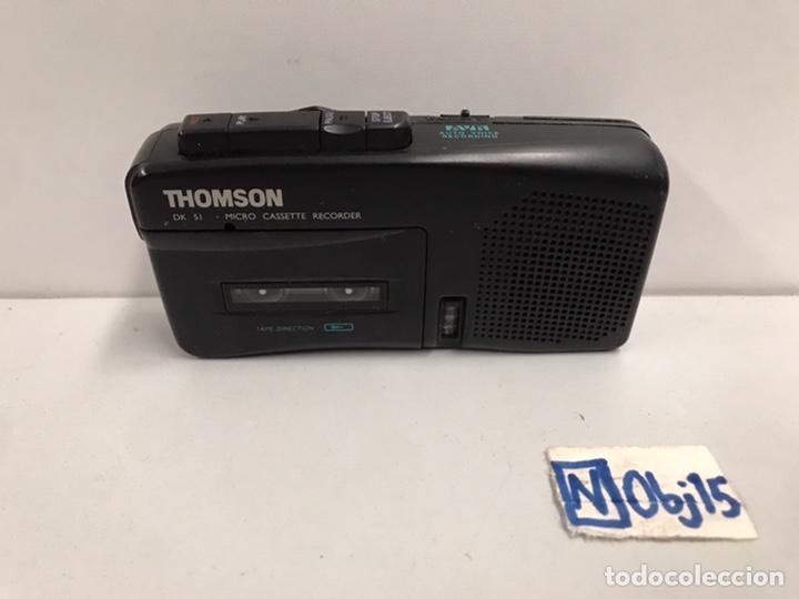 THOMSON DK40 MICRO CASSETTE RECORDER DICTATION MACHINE VINTAGE RETRO COLLECTABLE (Radios, Gramófonos, Grabadoras y Otros - Radioaficionados)