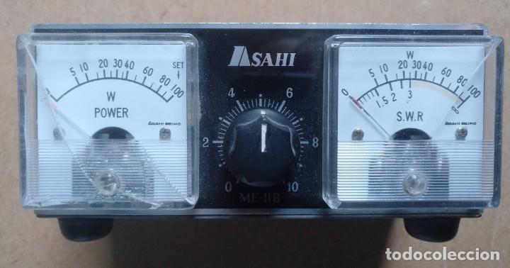 ELECTRONICA, RADIOAFICIONADO, EQUIPO, APARATO ME-IIB ASAHI (Radios, Gramófonos, Grabadoras y Otros - Radioaficionados)