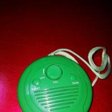 Radios antiguas: RADIO-SIN MARCA-DE LAS LLAMADAS DE BAÑO-FUNCIONANDO-NUEVA-NECESITA PILAS-VER FOTOS. Lote 192704513