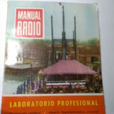 Radios antiguas: REVISTA ANTIGUA MANUAL RADIO. Lote 193247072