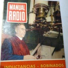 Radios antiguas: REVISTA ANTIGUA MANUAL RADIO. Lote 193247436