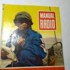 Radios antiguas: REVISTA ANTIGUA MANUAL RADIO. Lote 193249842