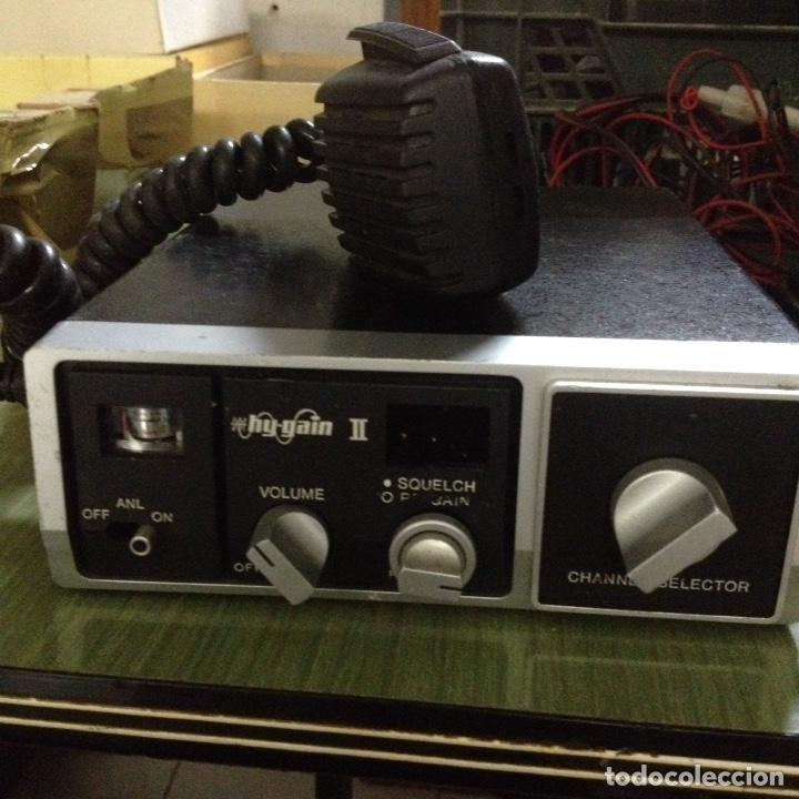 Radios antiguas: Emisoras HY-gain II - Foto 2 - 193919870