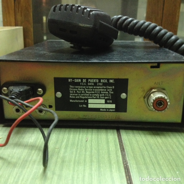 Radios antiguas: Emisoras HY-gain II - Foto 11 - 193919870