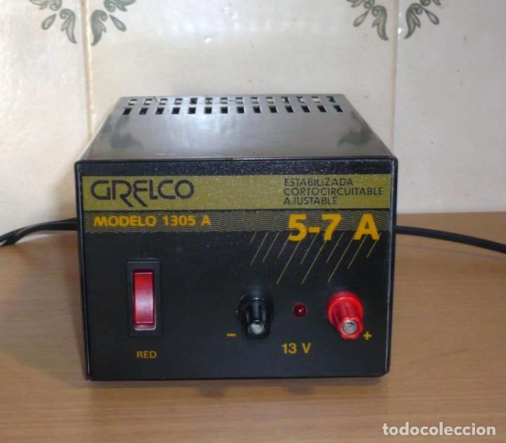 FUENTE DE ALIMENTACION GRELCO. MOD.1305A. 5-7 A (Radios, Gramófonos, Grabadoras y Otros - Radioaficionados)