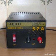 Radios antiguas: FUENTE DE ALIMENTACION GRELCO. MOD.1305A. 5-7 A. Lote 206937056