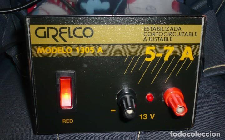 Radios antiguas: Fuente de Alimentacion GRELCO. mod.1305A. 5-7 A - Foto 5 - 194250841