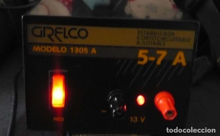 Radios antiguas: Fuente de Alimentacion GRELCO. mod.1305A. 5-7 A - Foto 6 - 194250841