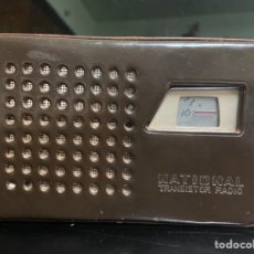 Radios antiguas: NATIONAL TRANSISTOR RADIO. Lote 194603680