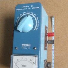 Radios antiguas: ELECTRONICA, APARATO MEDIDOR DE IMPEDANCIA DE ANTENA . Lote 195060897