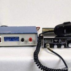 Radios antiguas: EMISORA STARLET 40 CB MAS FUENTE DE ALIMENTACIÓN. Lote 195064391