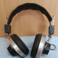 Radios antiguas: AURICULARES VINTAGE. MARCA GRONINGEN SH-3000. AÑOS 60-70.. Lote 195100587