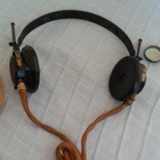 Radios antiguas: AURICULARES EN BAQUELITA DE LOS AÑOS 30.. Lote 195407181