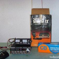 Radios antiguas: EMISORA RADIOAFICIONADO STALKER IX . Lote 195432053