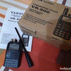 Rádios antigos: YAESU VR-500 CON FALLO ESTETICO, ANUNCIO CON VIDEO, VR 500, VR500. Lote 195572527