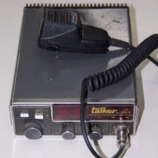 Radios antiguas: EMISORA RADIOTELÉFONO TALKER TP 250-E CON MICRÓFONO. Lote 195947942