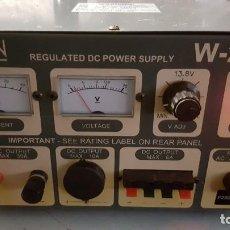 Radios antiguas: WATSON FUENTE DE ALIMENTACIÓN DC REGULADA Y VARIABLE 0-15V 25A REGULATED DC POWER SUPPLY 0-15V DC25A. Lote 196112488