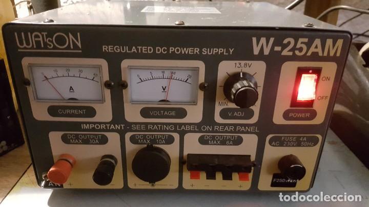 Radios antiguas: Watson Fuente de alimentación DC regulada y variable 0-15V 25A Regulated DC Power Supply 0-15V DC25A - Foto 2 - 196112488