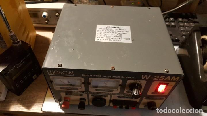 Radios antiguas: Watson Fuente de alimentación DC regulada y variable 0-15V 25A Regulated DC Power Supply 0-15V DC25A - Foto 3 - 196112488