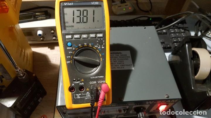 Radios antiguas: Watson Fuente de alimentación DC regulada y variable 0-15V 25A Regulated DC Power Supply 0-15V DC25A - Foto 6 - 196112488