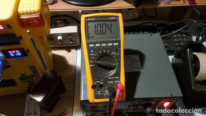 Radios antiguas: Watson Fuente de alimentación DC regulada y variable 0-15V 25A Regulated DC Power Supply 0-15V DC25A - Foto 10 - 196112488