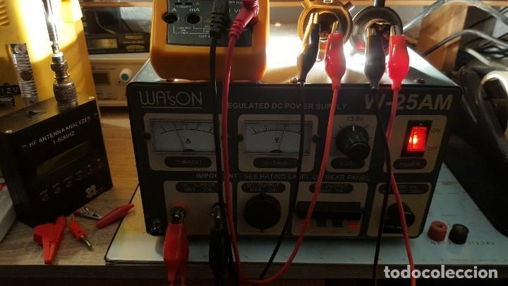 Radios antiguas: Watson Fuente de alimentación DC regulada y variable 0-15V 25A Regulated DC Power Supply 0-15V DC25A - Foto 14 - 196112488