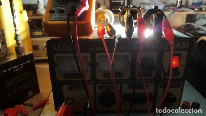 Radios antiguas: Watson Fuente de alimentación DC regulada y variable 0-15V 25A Regulated DC Power Supply 0-15V DC25A - Foto 16 - 196112488