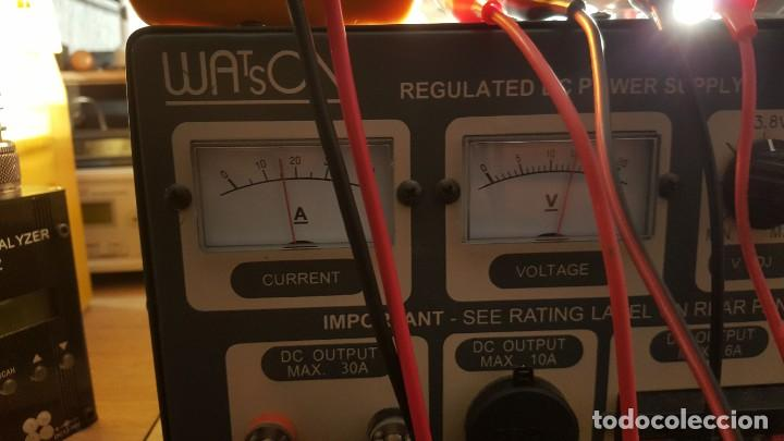 Radios antiguas: Watson Fuente de alimentación DC regulada y variable 0-15V 25A Regulated DC Power Supply 0-15V DC25A - Foto 17 - 196112488
