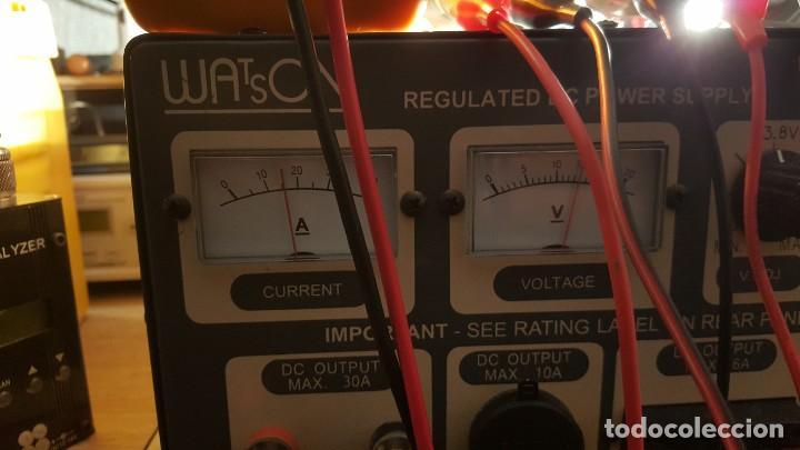 Radios antiguas: Watson Fuente de alimentación DC regulada y variable 0-15V 25A Regulated DC Power Supply 0-15V DC25A - Foto 18 - 196112488