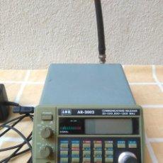 Rádios antigos: AR-2002 COMMUNICATIONS RECEIVER 25-550,800-1300MHZ.RECEPTOR DE COMUNICACIONES MADE IN JAPAN.FUNCIONA. Lote 196838855