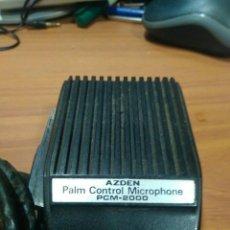 Radio antiche: MICRÓFONO PC-2000 AZDEN PALM CONTROL MICROPHONE. Lote 197657358
