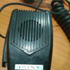 Radio antiche: MICRÓFONO DE EMISORA CB PONY KD-75. Lote 197658560