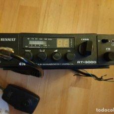 Radios antiguas: EMISORA 27MHZ RENAULT RT3000 . Lote 197963575