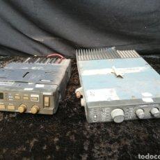 Radios antiguas: 2 EMISORAS DE COCHE DE POLICÍA. Lote 197974296