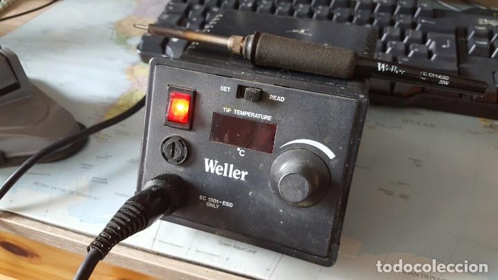 SOLDADOR DE TEMPERATURA VARIABLE MARCA WELLER (Radios, Gramófonos, Grabadoras y Otros - Radioaficionados)