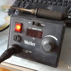 Radios antiguas: SOLDADOR DE TEMPERATURA VARIABLE MARCA WELLER. Lote 198038940