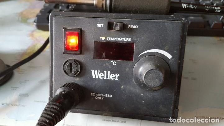 Radios antiguas: Soldador de temperatura variable marca Weller - Foto 2 - 198038940