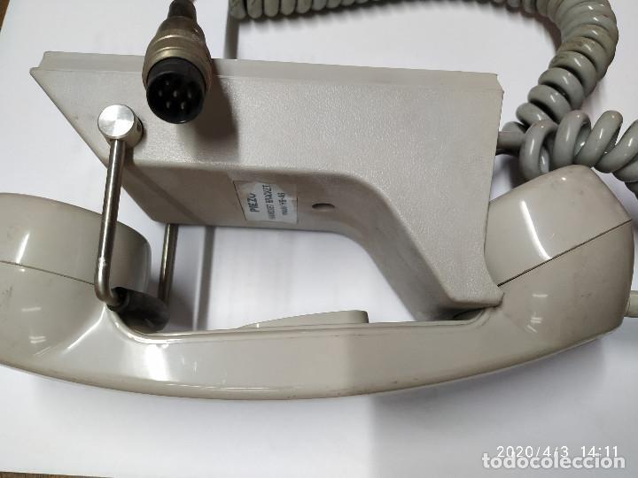 Radios antiguas: TELEFONO PIEZO HANDSET BRACKET HB-46 PARA CENTYS - Foto 2 - 199173163