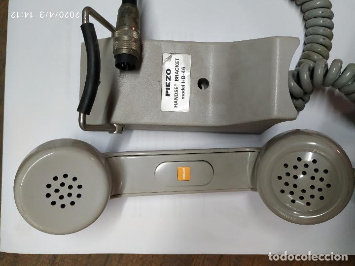 Radios antiguas: TELEFONO PIEZO HANDSET BRACKET HB-46 PARA CENTYS - Foto 4 - 199173163