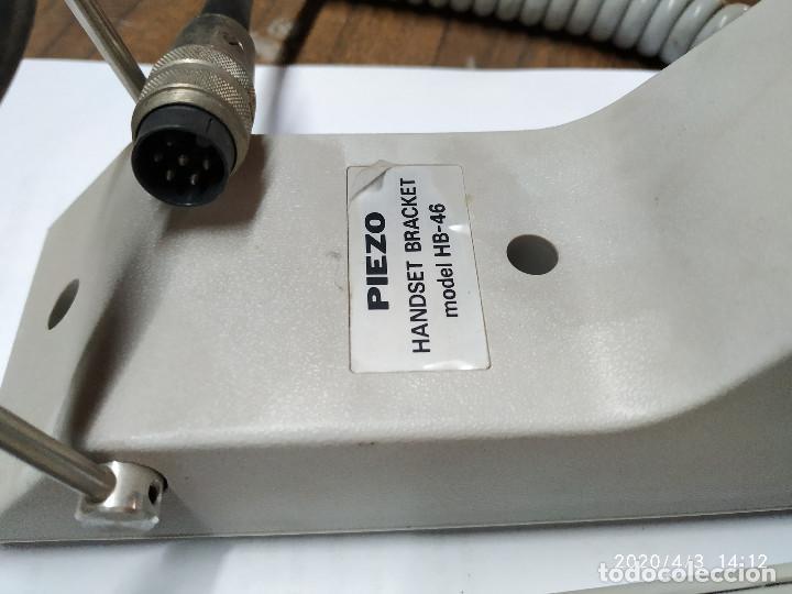 Radios antiguas: TELEFONO PIEZO HANDSET BRACKET HB-46 PARA CENTYS - Foto 5 - 199173163