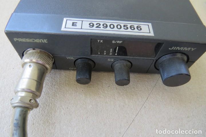 Radios antiguas: RADIO PORTATIL MARCA PRESIDENT JIMMY 37 HZ - Foto 3 - 199424515