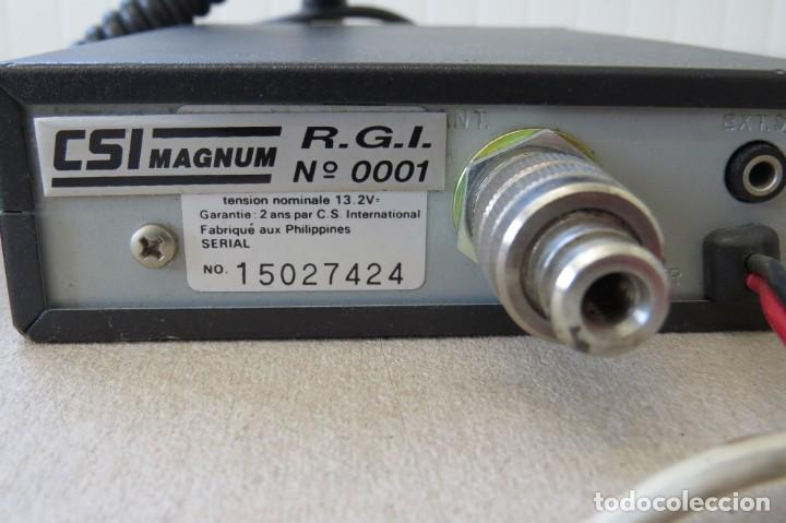 Radios antiguas: RADIO PORTATIL MARCA PRESIDENT JIMMY 37 HZ - Foto 7 - 199424515