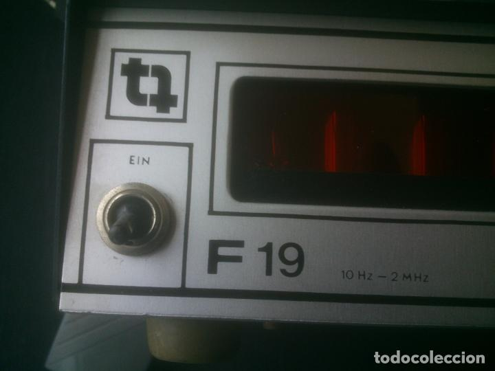 Radios antiguas: -TRANSMISIONES-MEDIDOR(GENERADOR) DE FRECUENCIAS DE RADIO.MODELO:F 19- - Foto 7 - 33960033