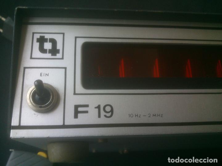 Radios antiguas: -TRANSMISIONES-MEDIDOR(GENERADOR) DE FRECUENCIAS DE RADIO.MODELO:F 19- - Foto 8 - 33960033