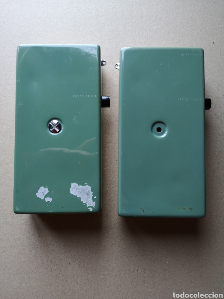 Radios antiguas: Walkie-talkies Sharp CBT-1A Años 70 - Foto 12 - 201750350