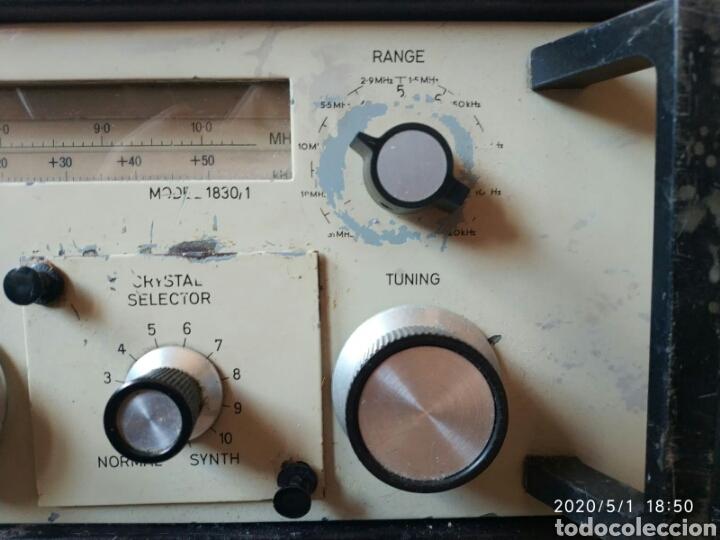 Radios antiguas: Receptor radio profesional Eddystone 1830-1 - Foto 4 - 202769548
