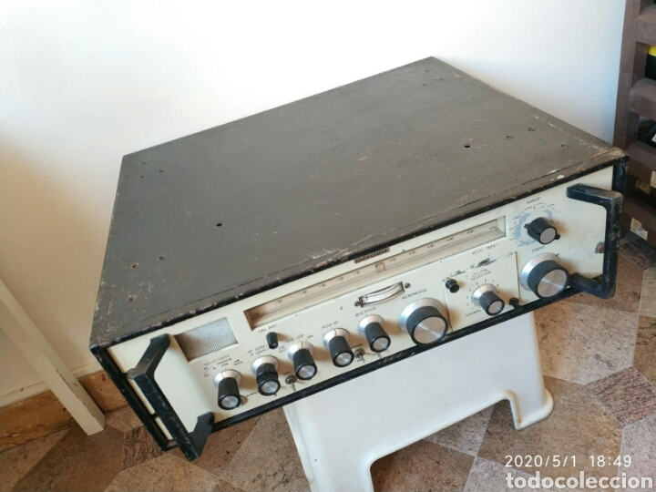 Radios antiguas: Receptor radio profesional Eddystone 1830-1 - Foto 5 - 202769548